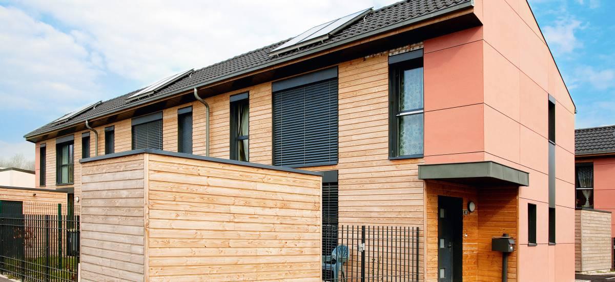 13 maisons BBC à Saint-Brice-Courcelles - Galerie 1