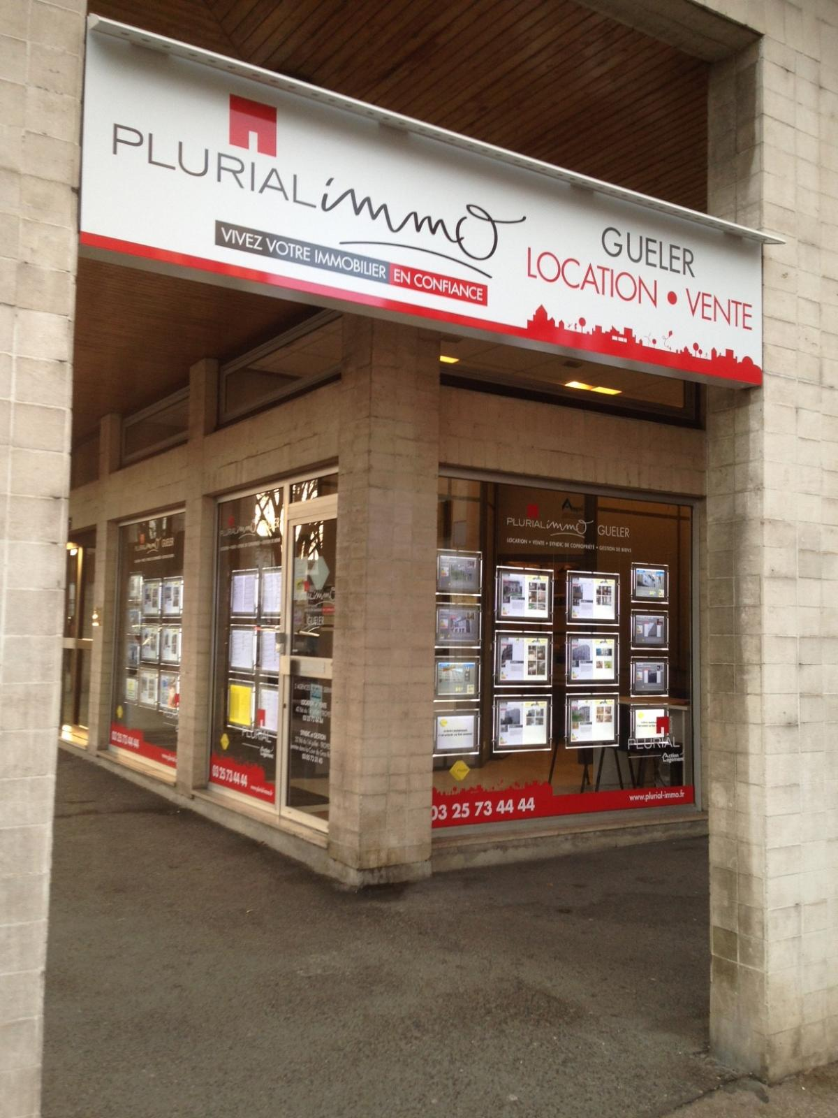 L agence gueler de troyes passe sous le pavillon plurial for Agence immo troyes