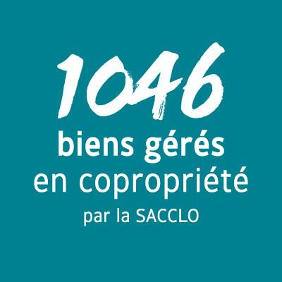 1 046 biens gérés en copropriété par la SACCLO
