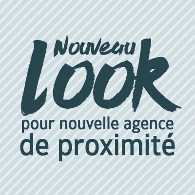 Nouveau look pour nouvelle agence de proximité