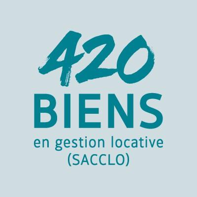 420 biens en gestion locative