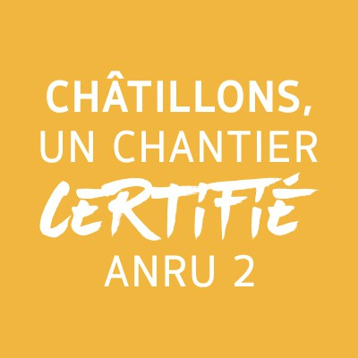Châtillons : un chantier certifié ANRU 2