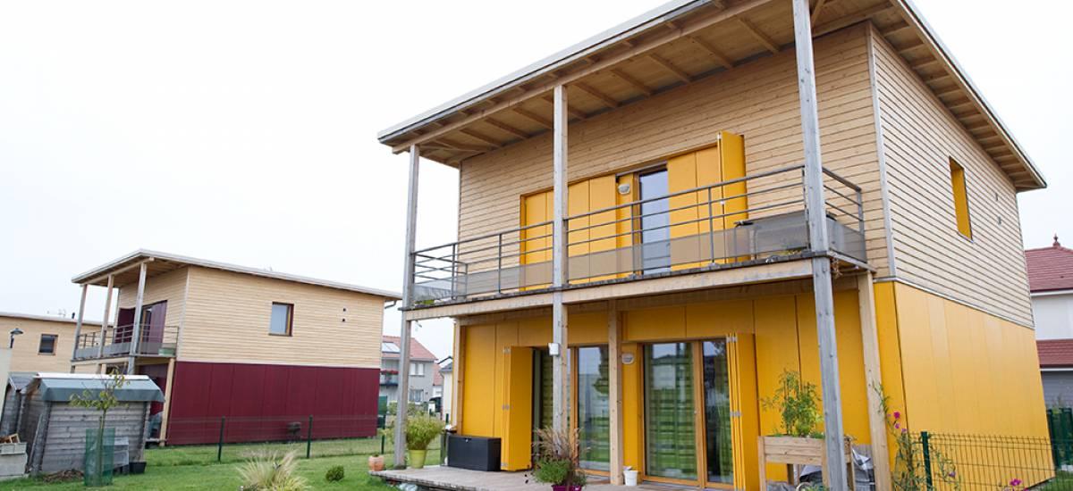 Les premières « maisons passives » sociales de Champagne-Ardenne voient le jour à Bétheny - Galerie 1
