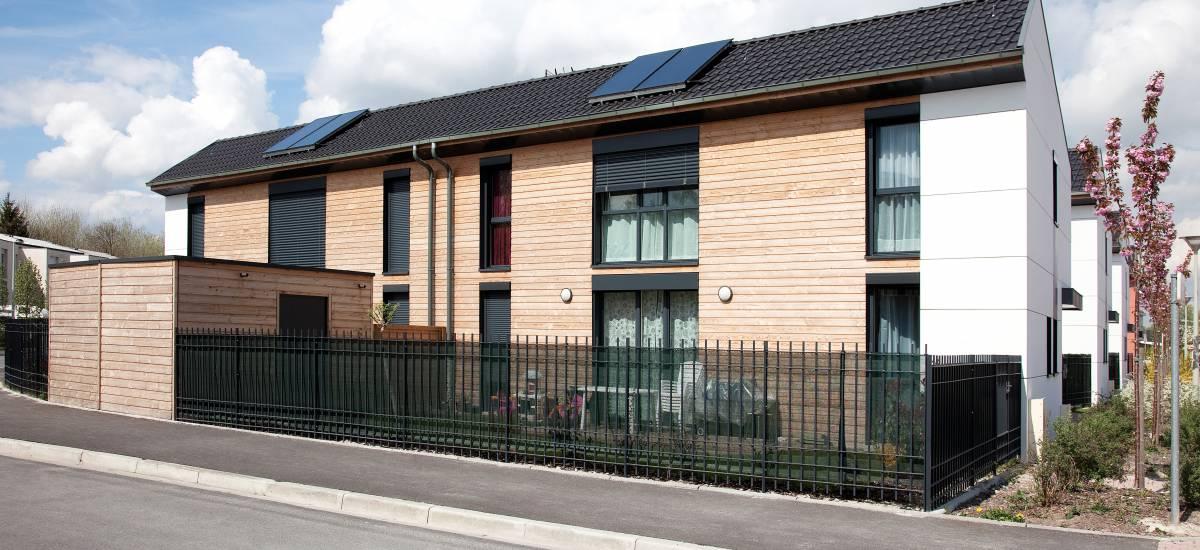 13 maisons BBC à Saint-Brice-Courcelles - Galerie 2