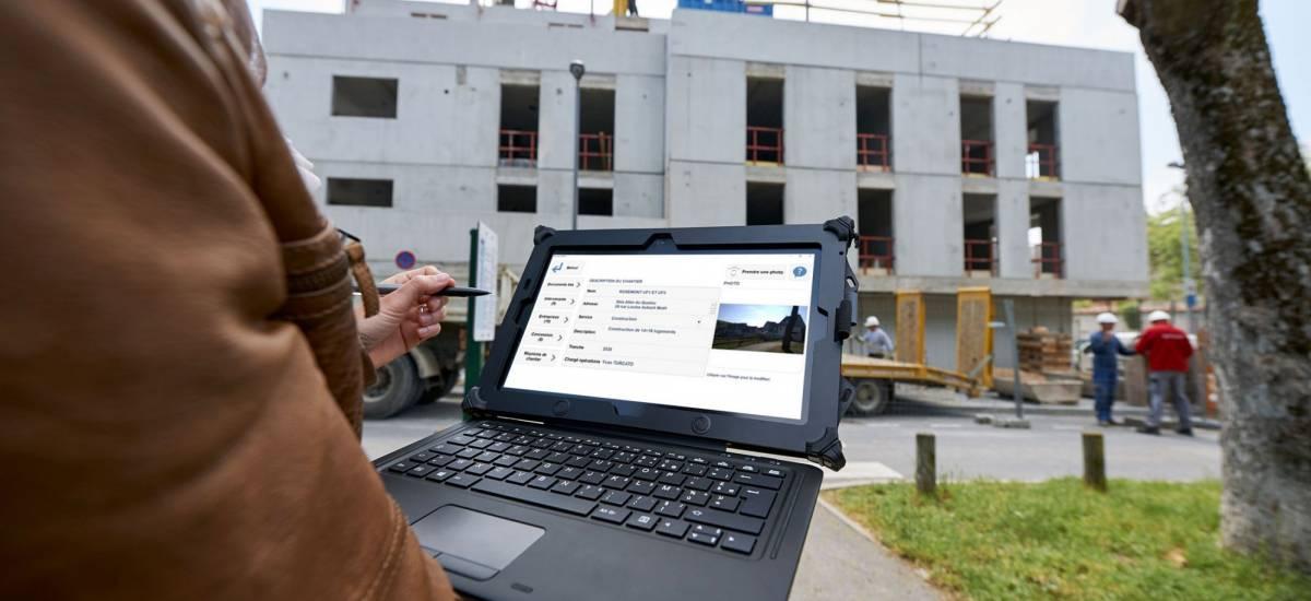 ARCHITEC : la tablette adaptée au suivi de chantier - Galerie 1